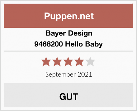 Bayer Design 9468200 - Funktionspuppe Hello Baby Test