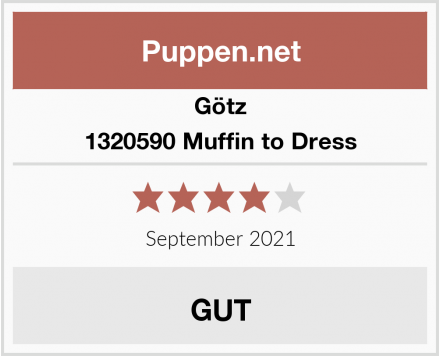 Götz 1320590 Muffin to Dress Mädchen Puppe Test