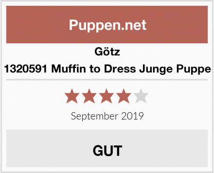 Götz 1320591 Muffin to Dress Junge Puppe Test
