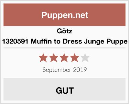 Götz 1320591 Muffin to Dress Junge Puppe Test