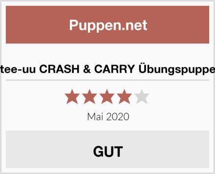 tee-uu CRASH & CARRY Übungspuppe Test