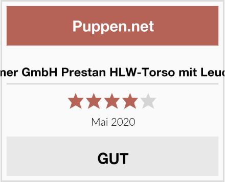 Erler-Zimmer GmbH Prestan HLW-Torso mit Leuchtanzeige Test