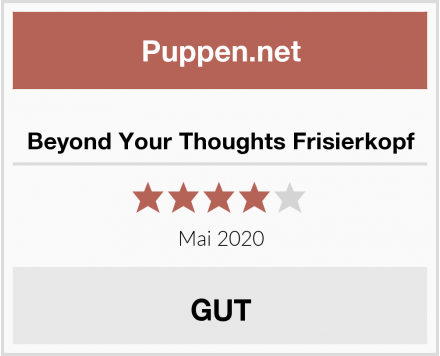 No Name Beyond Your Thoughts Frisierkopf Test