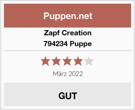 Zapf Creation 794234 Puppe Test