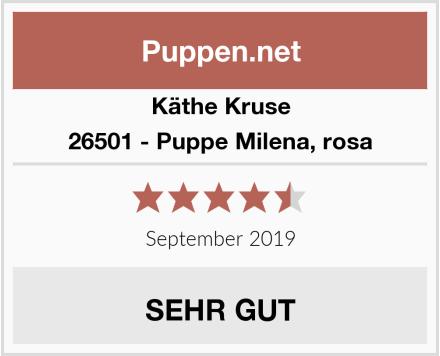 Käthe Kruse 26501 - Puppe Milena, rosa Test