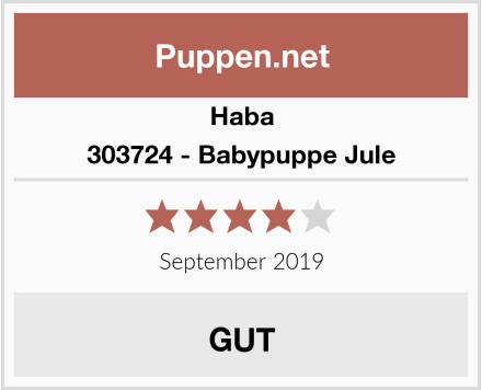 Haba 303724 - Babypuppe Jule Test