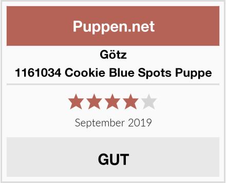 Götz 1161034 Cookie Blue Spots Puppe Test