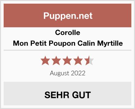 Corolle Mon Petit Poupon Calin Myrtille Test