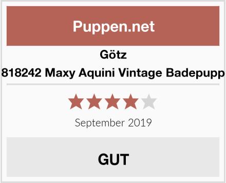 Götz 1818242 Maxy Aquini Vintage Badepuppe Test