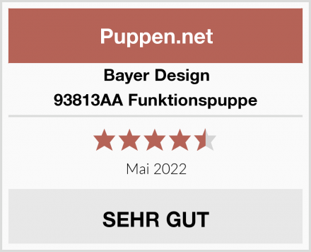 Bayer Design 93813AA Funktionspuppe Test