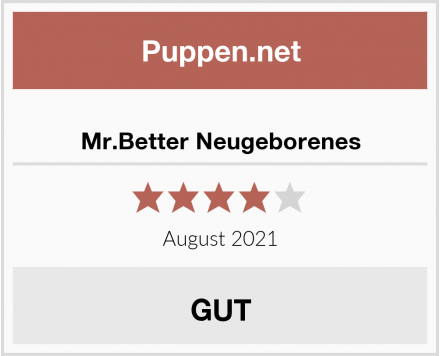 Mr.Better Neugeborenes Test