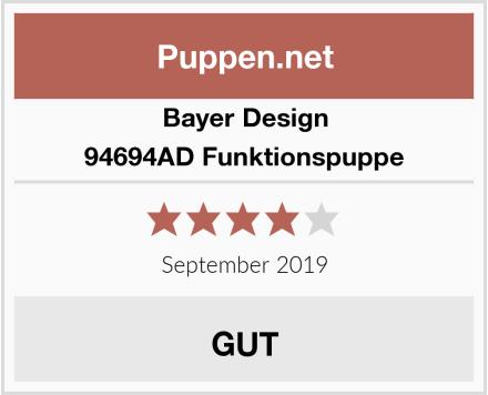 Bayer Design 94694AD Funktionspuppe Test