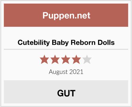 No Name Cutebility Baby Reborn Dolls Test