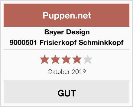 Bayer Design 9000501 Frisierkopf Schminkkopf Test