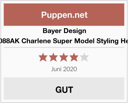 Bayer Design 90088AK Charlene Super Model Styling Head Test