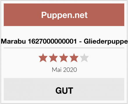 No Name Marabu 1627000000001 - Gliederpuppe Test