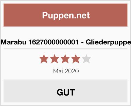 Marabu 1627000000001 - Gliederpuppe Test