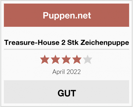 Treasure-House 2 Stk Zeichenpuppe Test