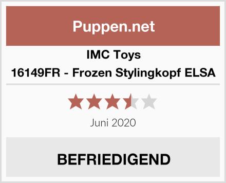 IMC Toys 16149FR - Frozen Stylingkopf ELSA Test