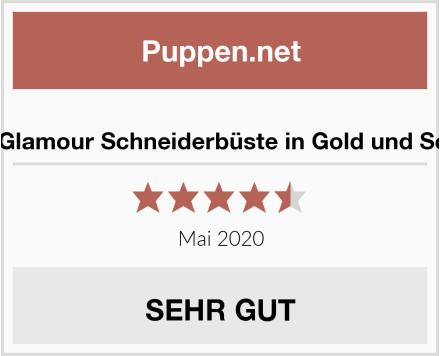 Clarie Glamour Schneiderbüste in Gold und Schwarz Test
