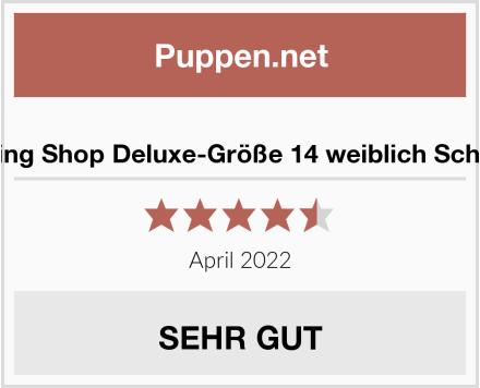 No Name The Shopfitting Shop Deluxe-Größe 14 weiblich Schneiderpuppe Test