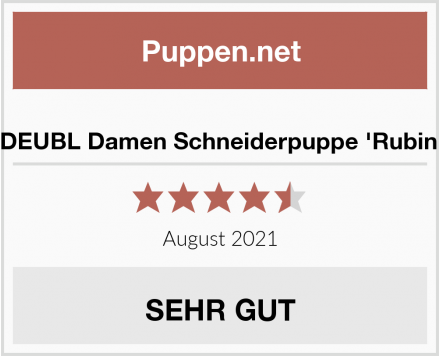 No Name DEUBL Damen Schneiderpuppe 'Rubin' Test