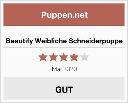 Beautify Weibliche Schneiderpuppe Test