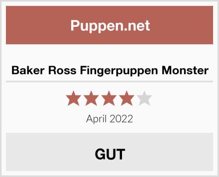 Baker Ross Fingerpuppen Monster Test