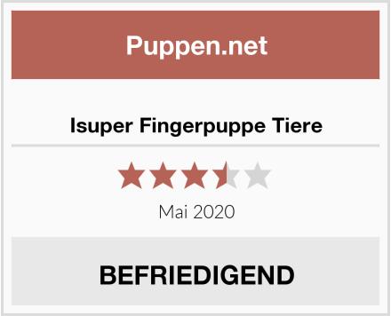 Isuper Fingerpuppe Tiere Test