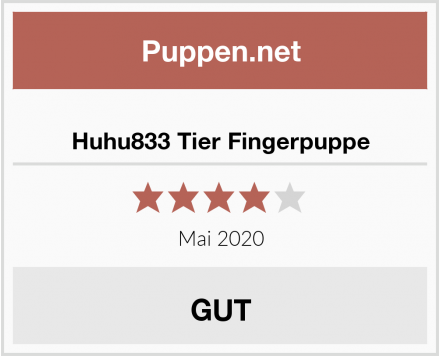Huhu833 Tier Fingerpuppe Test