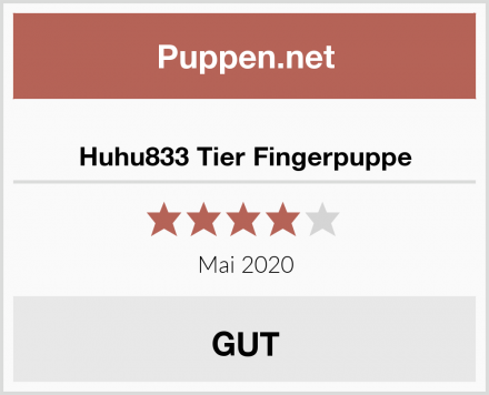 Huhu833 Tier Fingerpuppe Test