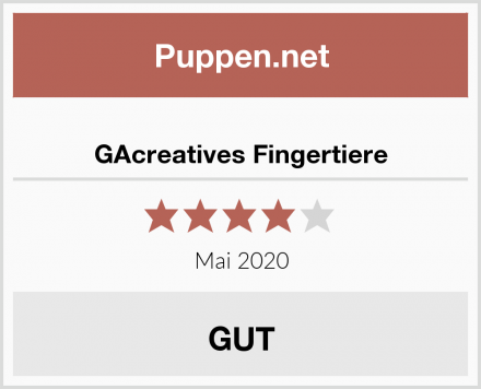 GAcreatives Fingertiere Test