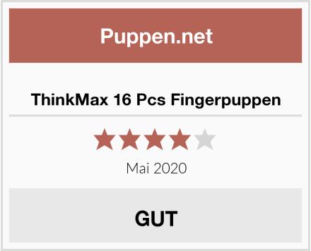 ThinkMax 16 Pcs Fingerpuppen Test