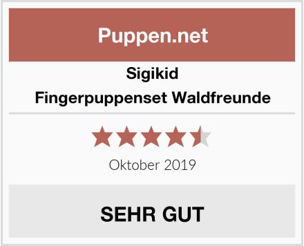 Sigikid Fingerpuppenset Waldfreunde Test