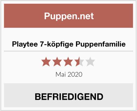 Playtee 7-köpfige Puppenfamilie Test
