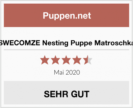 No Name SWECOMZE Nesting Puppe Matroschka Test