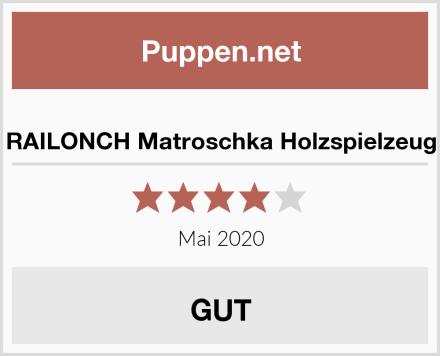 RAILONCH Matroschka Holzspielzeug Test