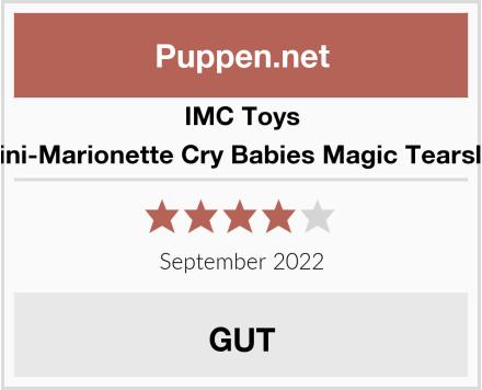 IMC Toys Mini-Marionette Cry Babies Magic Tearslila Test