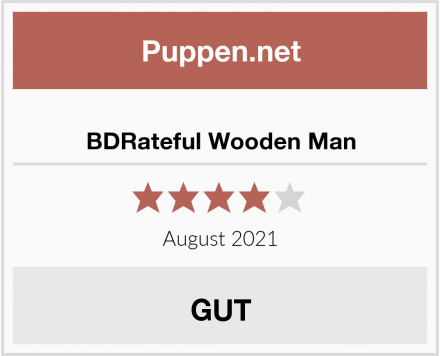 BDRateful Wooden Man Test