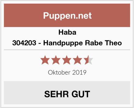 Haba 304203 - Handpuppe Rabe Theo Test