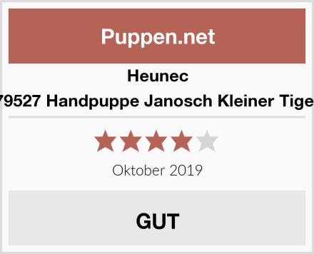 Heunec 79527 Handpuppe Janosch Kleiner Tiger Test