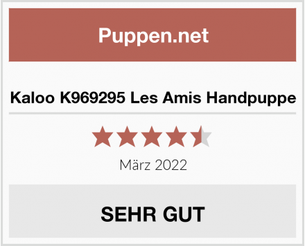 No Name Kaloo K969295 Les Amis Handpuppe Test