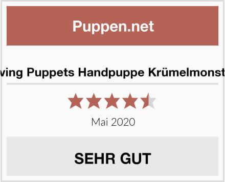 Living Puppets Handpuppe Krümelmonster Test
