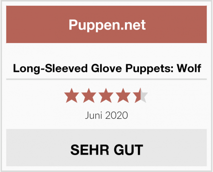 Long-Sleeved Glove Puppets: Wolf Test