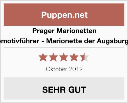 Prager Marionetten Lukas der Lokomotivführer - Marionette der Augsburger Puppenkiste Test