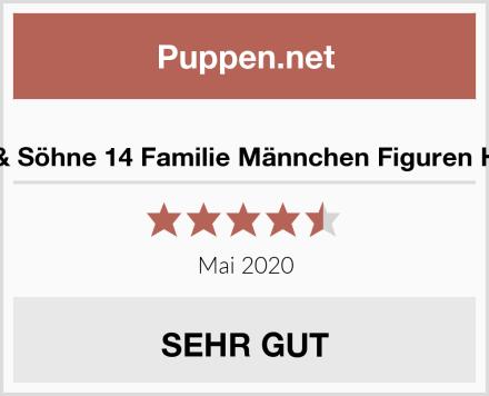 MEIERLE & Söhne 14 Familie Männchen Figuren Holzfiguren Test