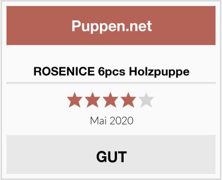 No Name ROSENICE 6pcs Holzpuppe Test