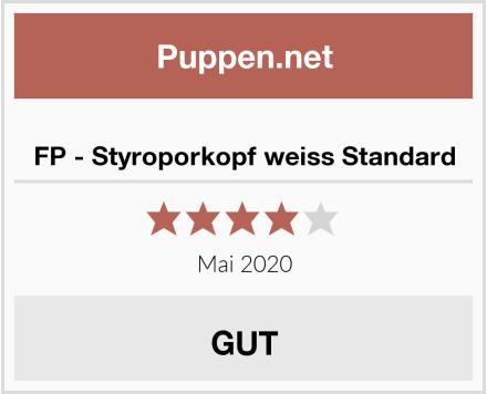 No Name FP - Styroporkopf weiss Standard Test