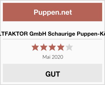 KULTFAKTOR GmbH Schaurige Puppen-Köpfe Test