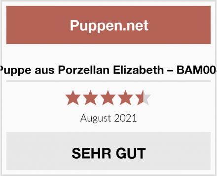 Puppe aus Porzellan Elizabeth – BAM004 Test